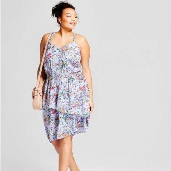 And new day plus size purple floral
